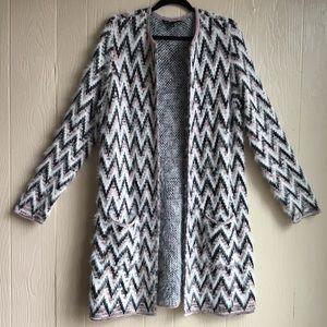 Signature Studio Chevron Design Sweater